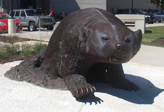 Madison Badger Statue