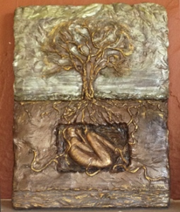 Life force Bas Relief