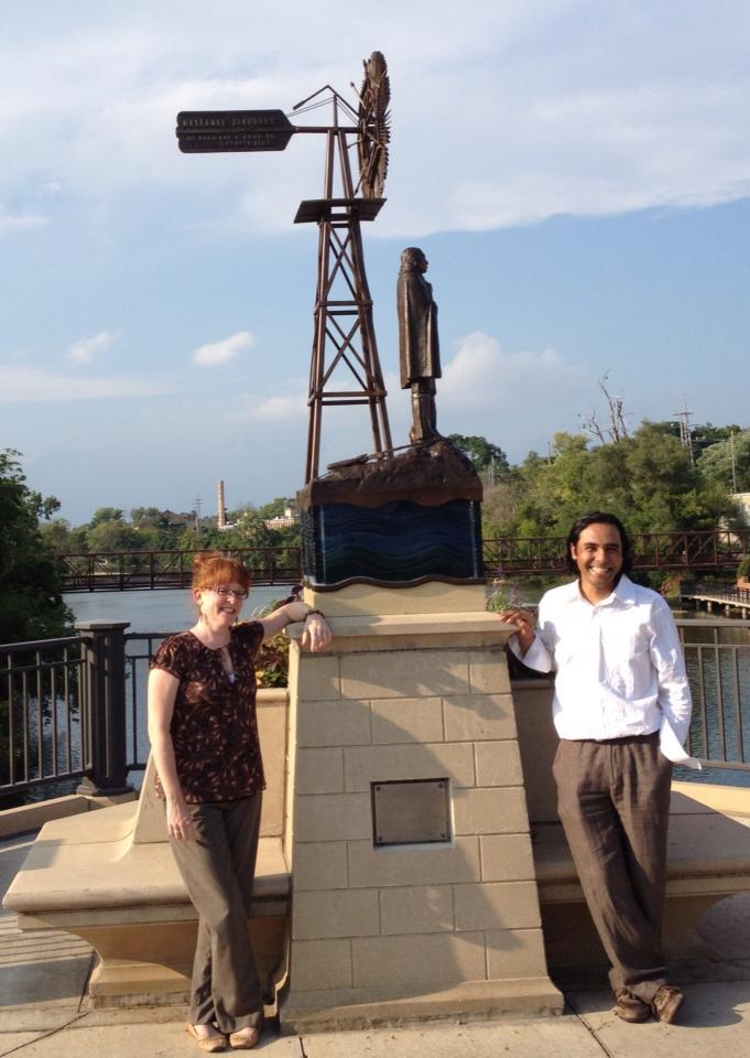Batavia Sculpture Unveiling