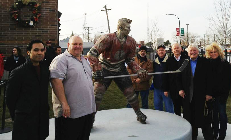 Bobby Hull Sculpture Unveiling