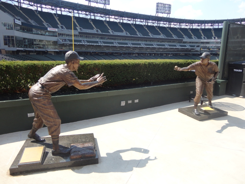 Fox and Aparicio Sculptures